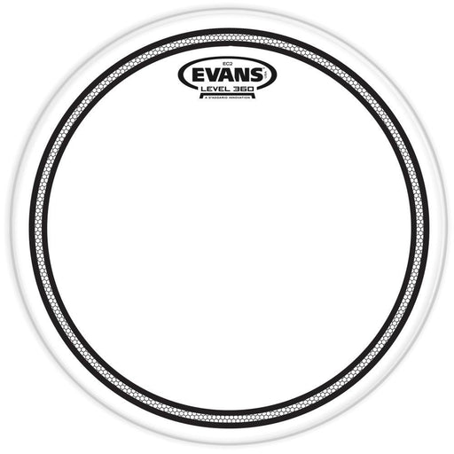 Evans EC2 Clear Drum Head 8 Inch - Music Junkie