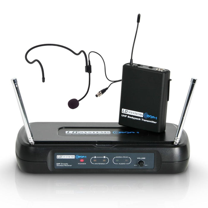 LD Systems ECO 2 BPH1 Wireless Headset Microphone System - Music Junkie