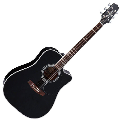 Takamine EF341SC Dreadnought Electro Acoustic Guitar Black - Music Junkie
