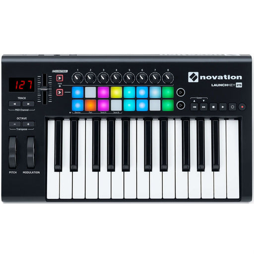 Novation Launchkey 25 MKII USB Keyboard Controller - Music Junkie