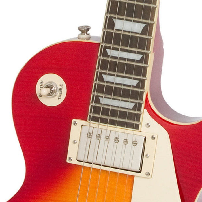 Epiphone Les Paul Standard Plus Top Pro Heritage Cherry - Music Junkie