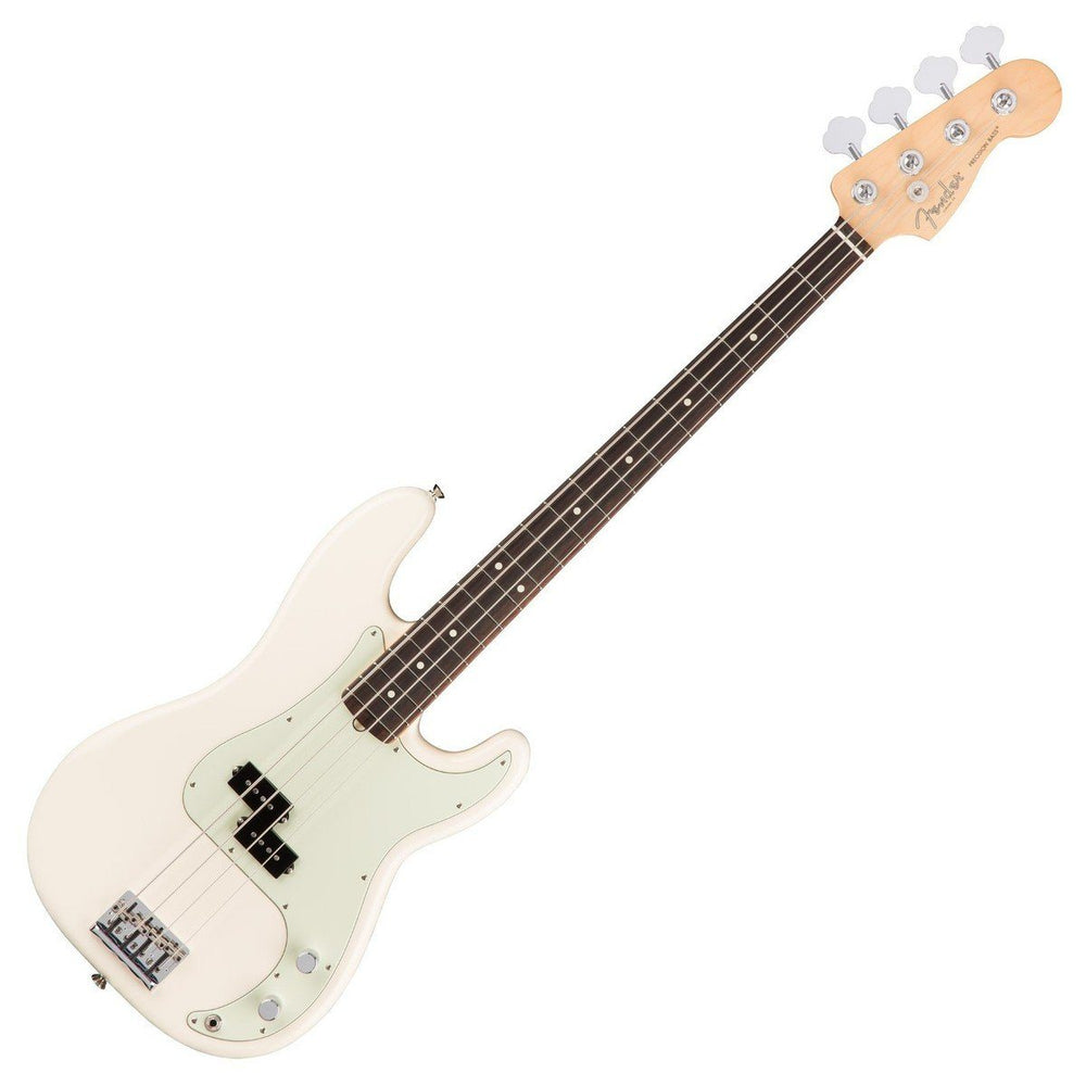 Fender American Pro P-Bass Olympic White RW - Music Junkie