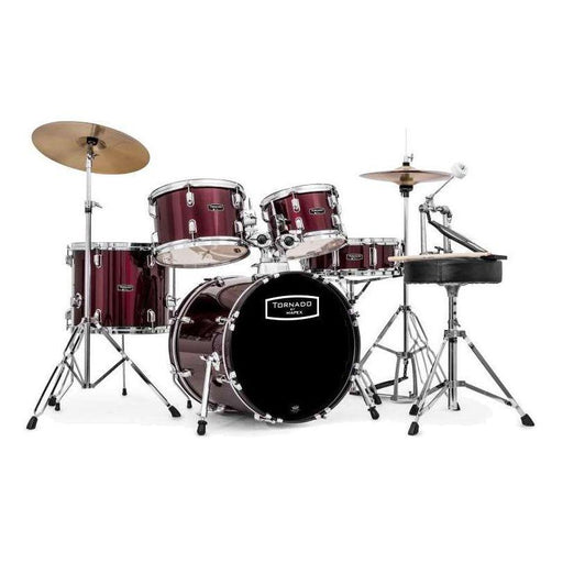 Mapex Tornado 1816 Compact Drum Kit Burgundy Red - Music Junkie