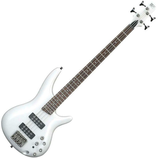 Ibanez SR300E-PW Bass Guitar Powder White - Music Junkie