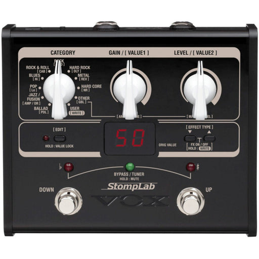 Vox StompLab IG Guitar Multi Effects Pedal - Music Junkie