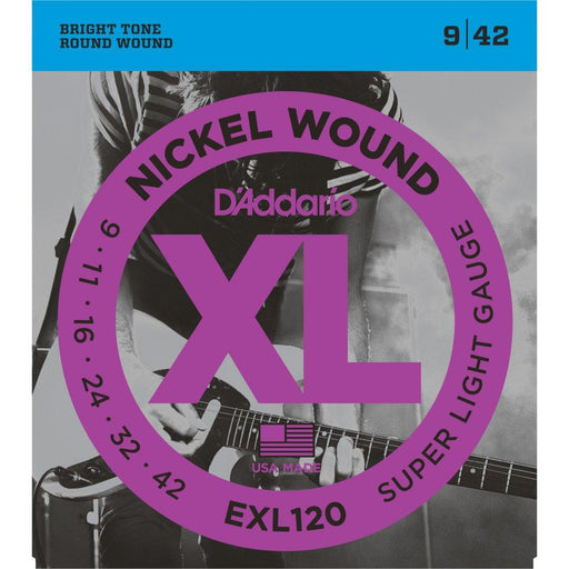 Daddario EXL120 Electric Guitar Strings 9-42 - Music Junkie