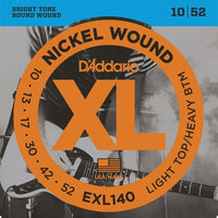 Daddario EXL140 Electric Guitar Strings 10-52 - Music Junkie