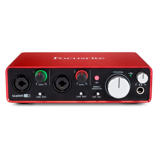 Focusrite Scarlett 2i2 2nd Gen USB Audio Interface - Music Junkie
