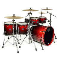 Mapex SV628XEB Saturn V Subwave Twin Shell Pack Cherry Mist - Music Junkie