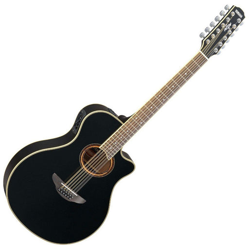 Yamaha APX700II 12 String Electro Acoustic Black - Music Junkie