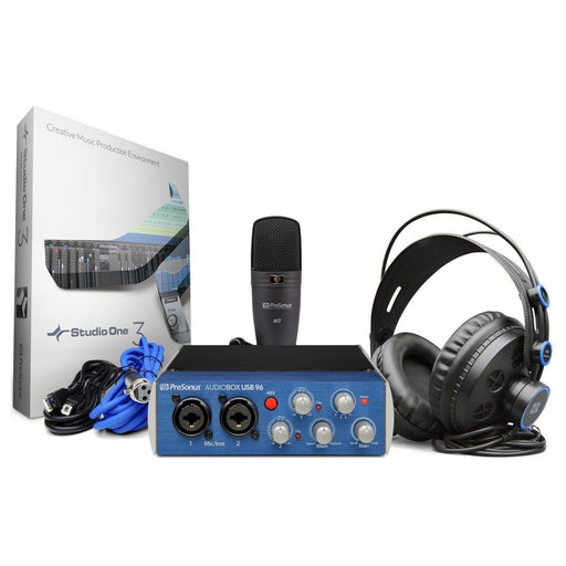 Image of PreSonus Audiobox 96 Studio Recording Package