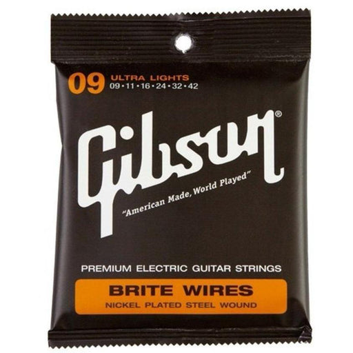 Gibson Brite Wires Electric Guitar Strings 9-42 - Music Junkie