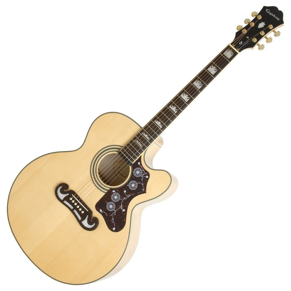 Epiphone EJ-200CE Electro Acoustic Guitar Natural - Music Junkie