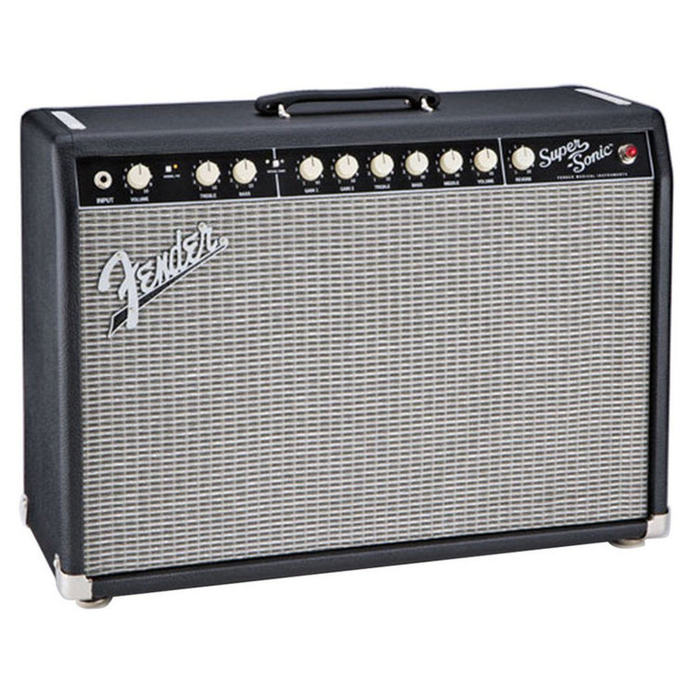 Fender Super Sonic 22 Valve Amp Black - Music Junkie