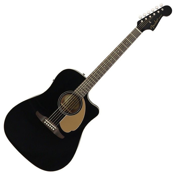 Image of Fender Redondo Player Acoustic Jetty Black