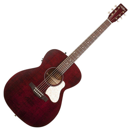 Art & Lutherie Legacy Concert Hall Electro Acoustic Tennessee Red