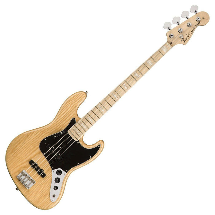 Image of Fender American Original 70's Jazz Bass Natural MN