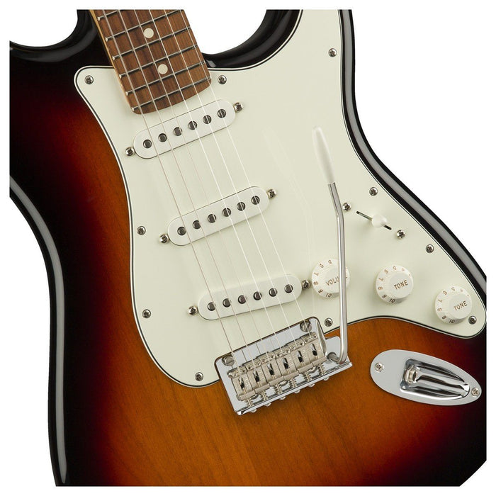 Fender Player Strat 3 Tone Sunburst Pau Ferro - Music Junkie