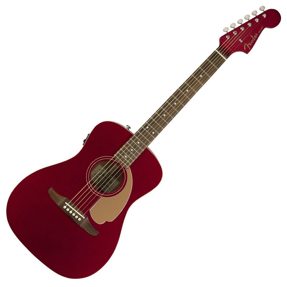 Image of Fender Malibu Player Electro Acoustic Candy Apple Red