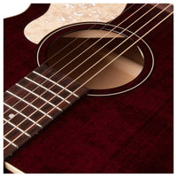 Art & Lutherie Legacy Concert Hall Electro Acoustic Tennessee Red - Music Junkie