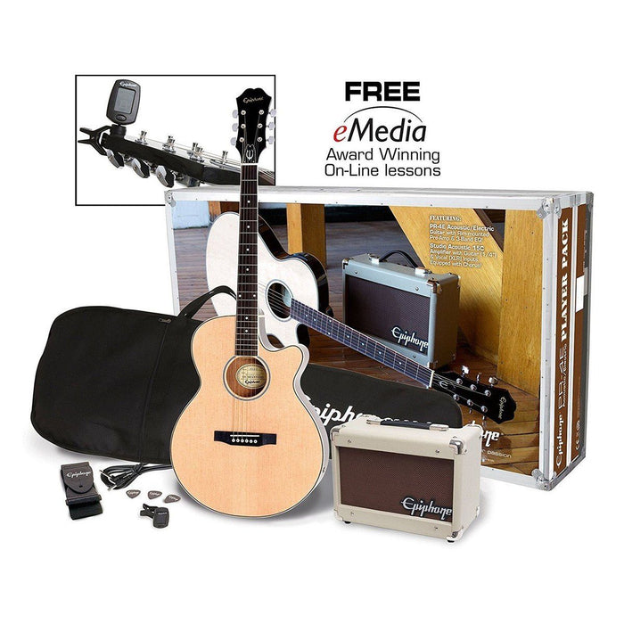 Epiphone PR-4E Electro Acoustic Player Pack - Music Junkie