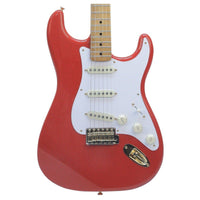Fender Limited Edition 50's Stratocaster Fiesta Red MN - Music Junkie