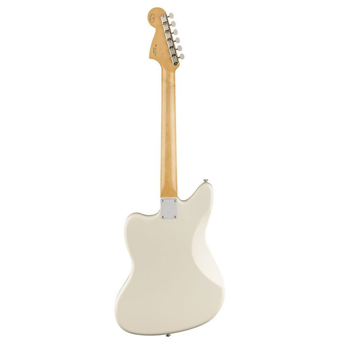 Back View of Fender Classic Player Jaguar Special HH Olympic White PF