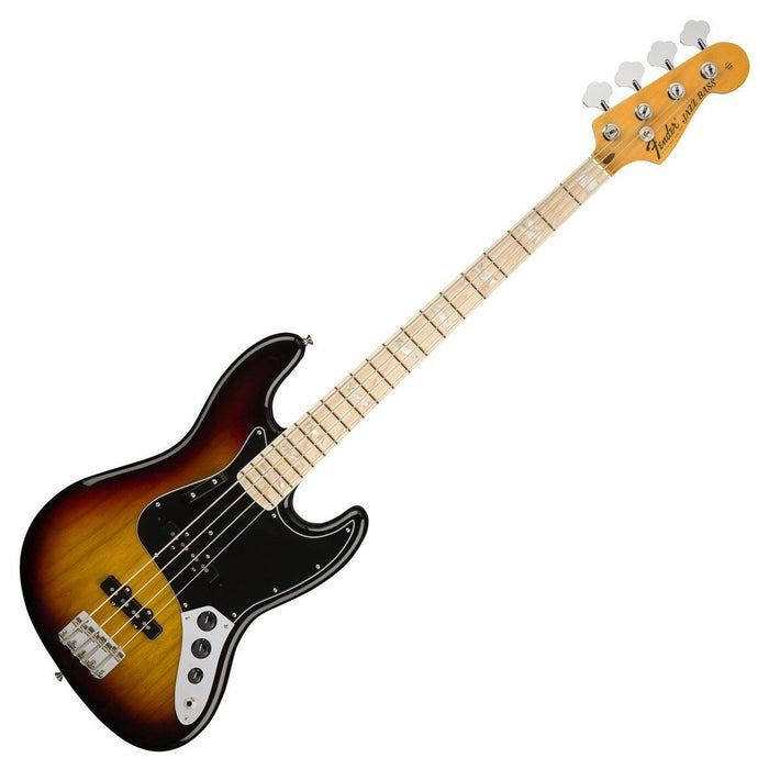 Image of Fender American Original 70's Jazz Bass 3 Tone Sunburst MN
