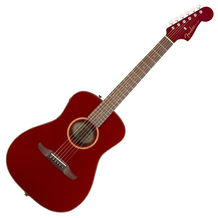 Image of Fender Malibu Classic Electro Acoustic Hot Rod Red Metallic