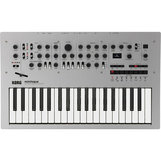 Korg Minilogue Polyphonic Analog Synth - Music Junkie