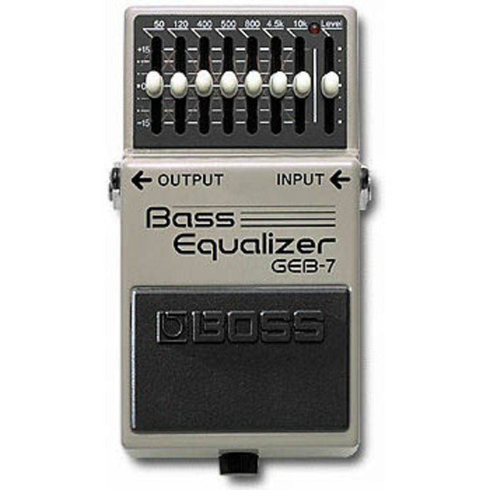 Boss GEB-7 Graphic Bass Equaliser Pedal - Music Junkie