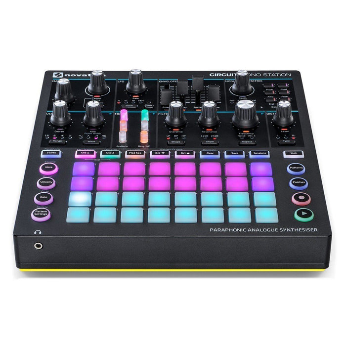 Novation Circuit Mono Station Analogue Synth - Music Junkie