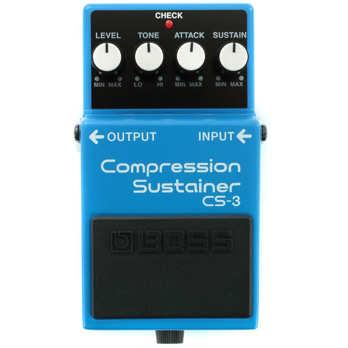 Boss CS-3 Compression Sustainer Pedal - Music Junkie