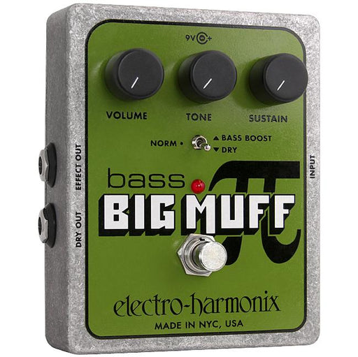 Electro Harmonix Bass Big Muff Pi Bass Effects Pedal - Music Junkie