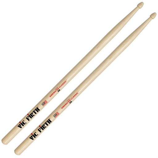 Vic Firth American Classic 5B Wood Tip Drumsticks - Music Junkie
