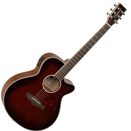 Tanglewood Winterleaf Super Folk Electro Whisky Barrel Burst - Music Junkie