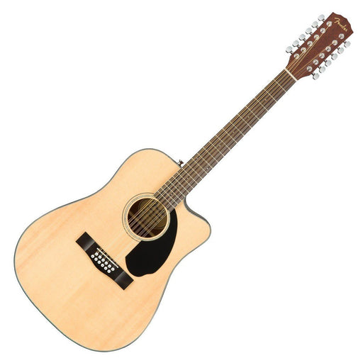 Fender CD-60SCE 12-String Electro Acoustic Natural - Music Junkie