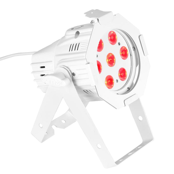 Cameo Studio Mini Par 7x8 RGBW LED Par Can White - Music Junkie
