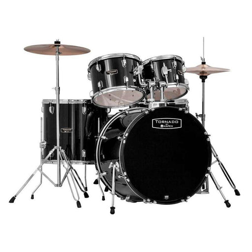 Mapex Tornado 2016 Fusion Drum Kit Black - Music Junkie