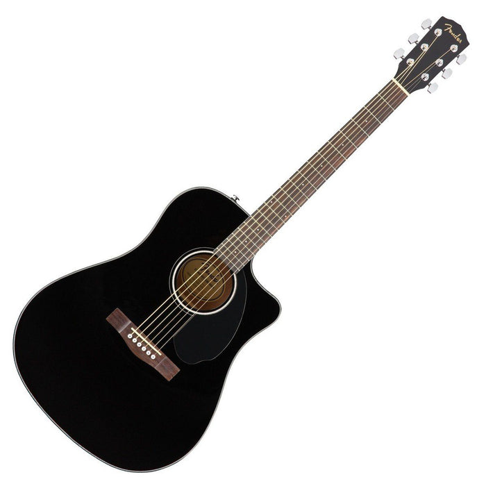 Fender CD-60SCE Electro Acoustic Black - Music Junkie