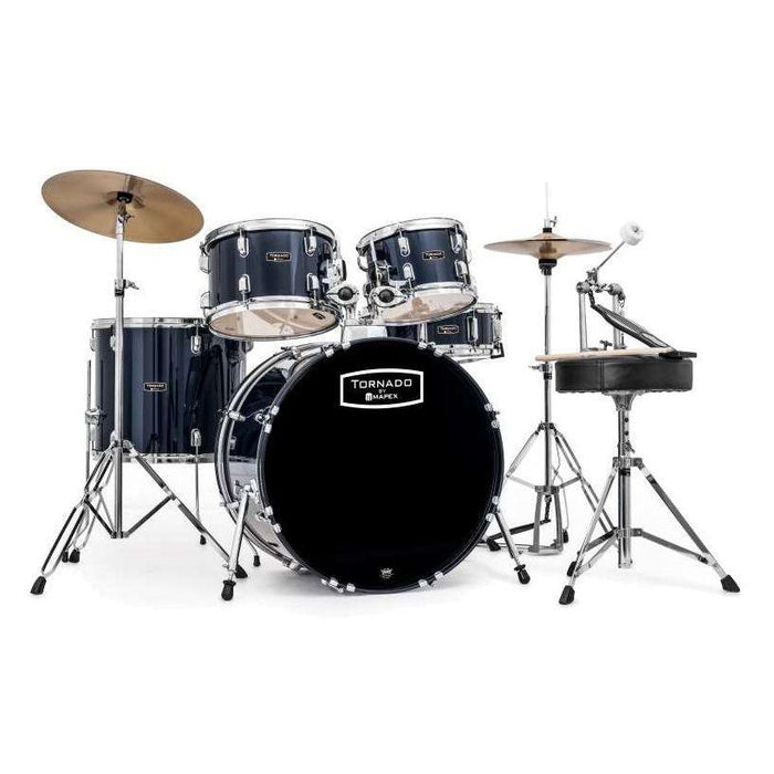 Mapex Tornado 2216 Rock Fusion Drum Kit Royal Blue - Music Junkie