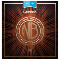 Daddario NB1253 Nickel Bronze Acoustic Guitar Strings 12-53 - Music Junkie