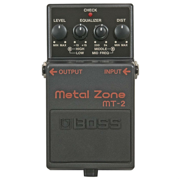Boss MT-2 Metal Zone Distortion Pedal - Music Junkie