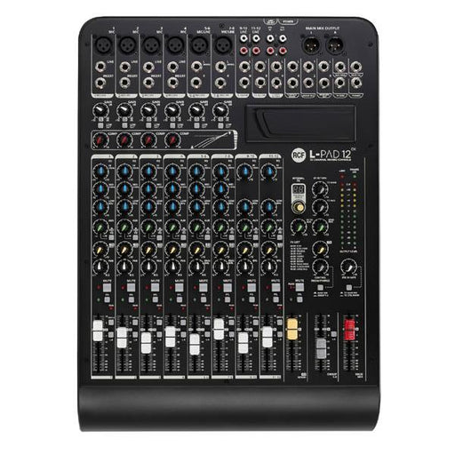 RCF LPAD12CX 12-Channel Mixer with Effects - Music Junkie