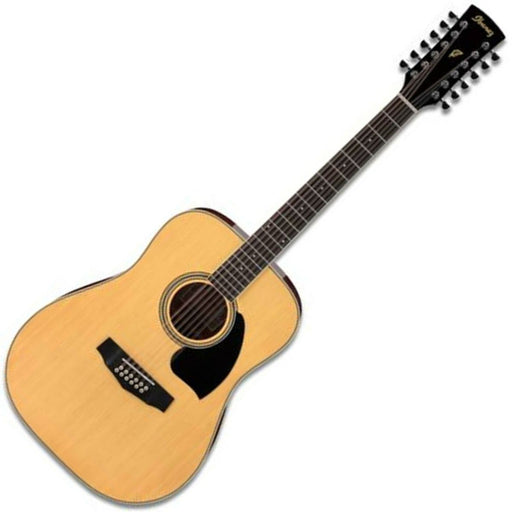 Ibanez PF1512 12-String Acoustic Guitar Natural - Music Junkie