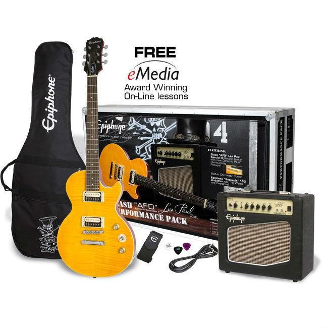 Epiphone Slash AFD Les Paul Performance Pack - Music Junkie