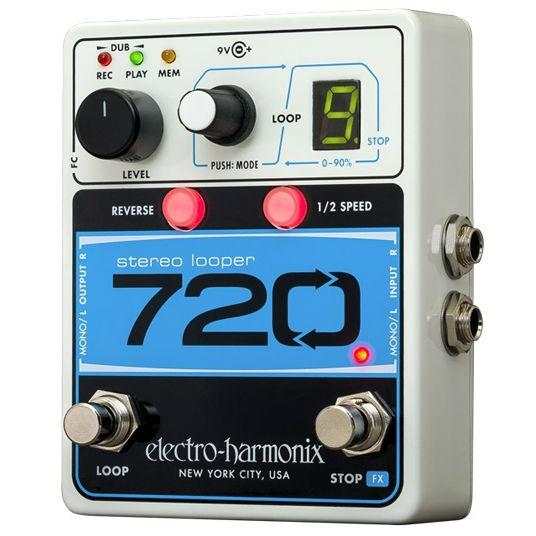 Electro Harmonix 720 Stereo Looper Pedal - Music Junkie