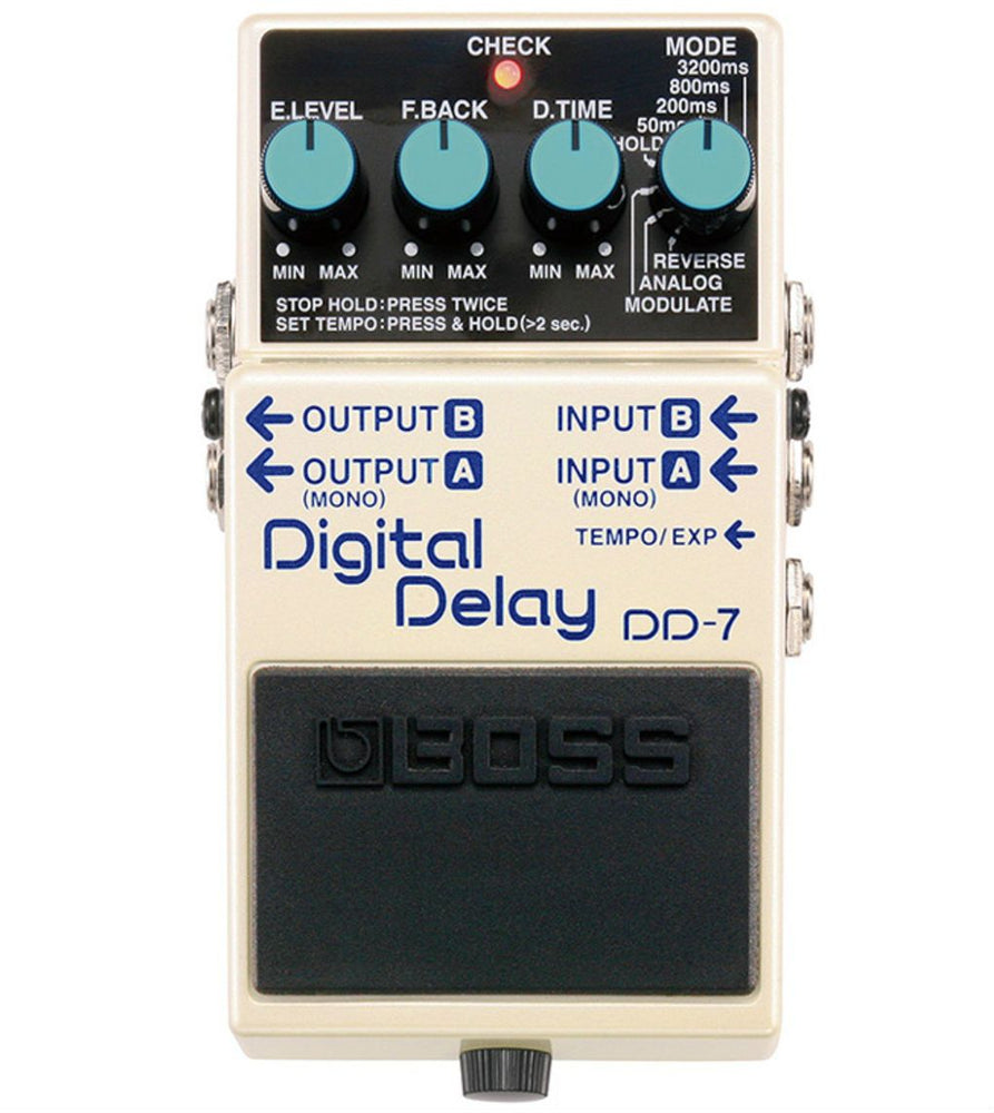 Boss DD-7 Digital Delay Pedal - Music Junkie