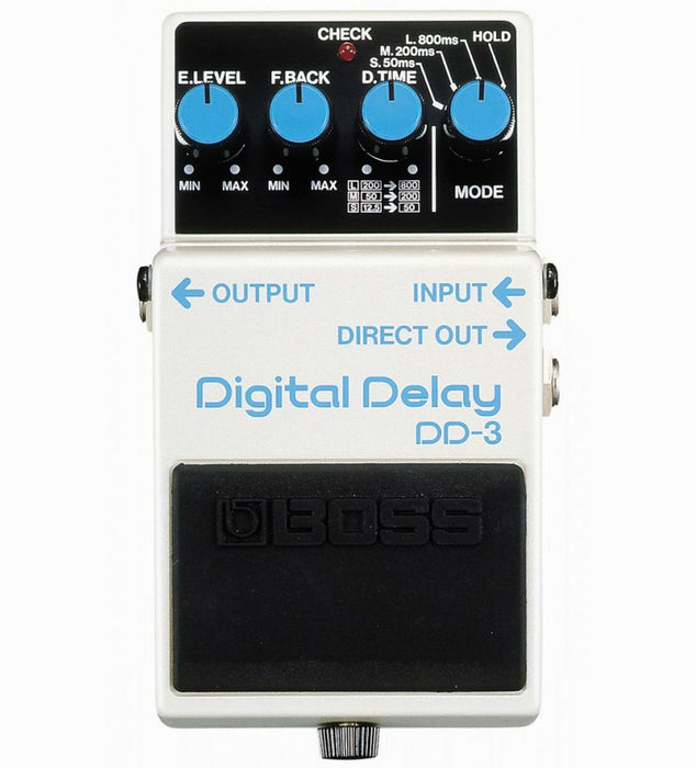 Boss DD-3 Digital Delay Pedal - Music Junkie