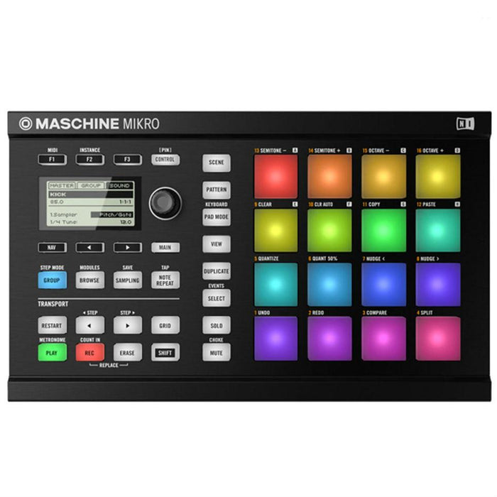 Native Instruments Maschine Mikro Mk2 Black - Music Junkie